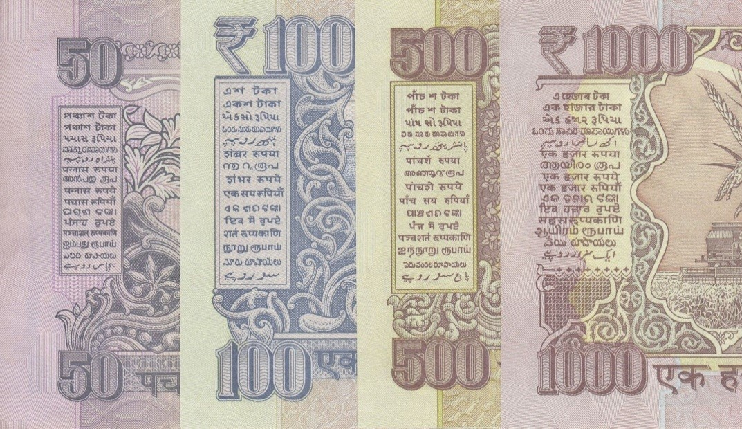 Fig 4 – 15 Languages of India found printed on every Indian currency