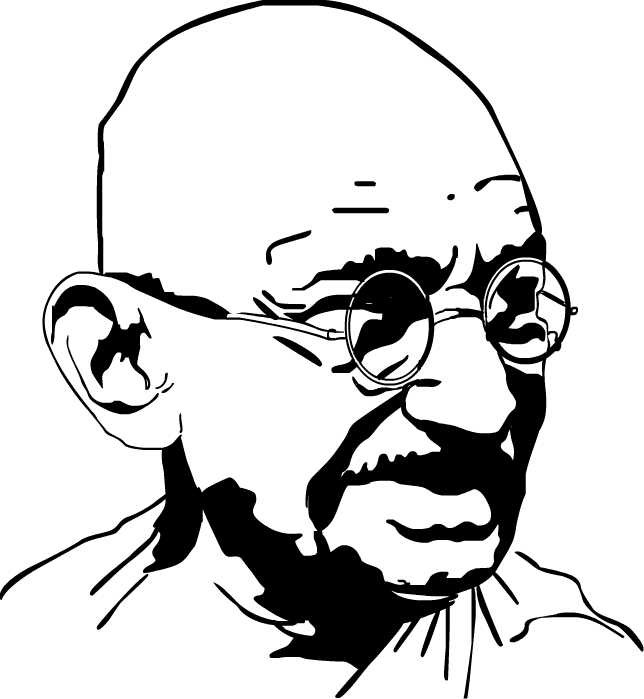 Fig 5 - Mahatma Gandhi – Father of the Nation
