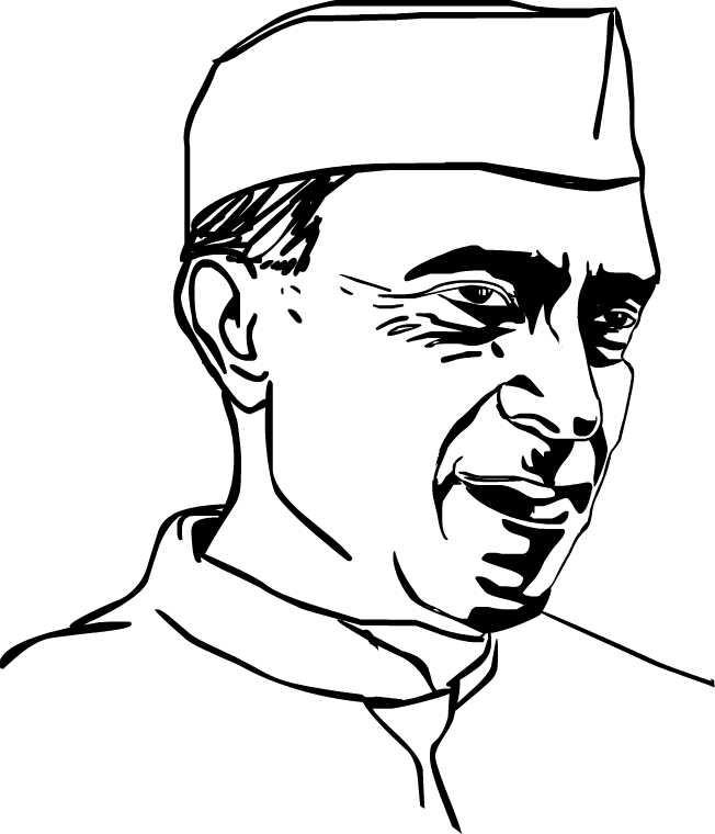 Fig 6 - Pandit Jawaharlal Nehru