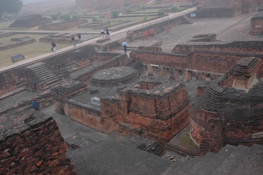 Fig 8 - The University of Nalanda as seen today