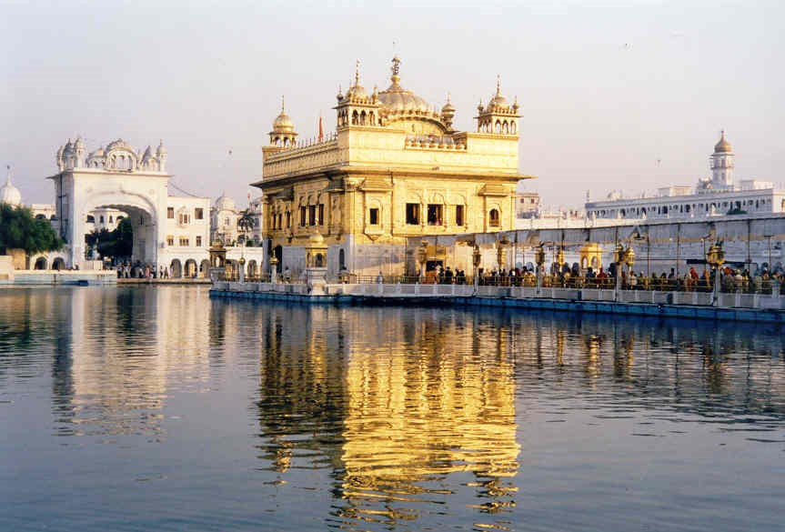 Fig 3 - Golden Temple – Amritsar: is the holiest Sikhgurdwara located in the city of Amritsar, Punjab, India. The city was founded in 1574 by the fourth Sikh guru, Guru Ram Das