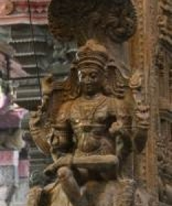Fig 7 Meenakshi Temple Pillar –
